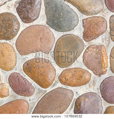 Pebble Stone Floor Tile Texture