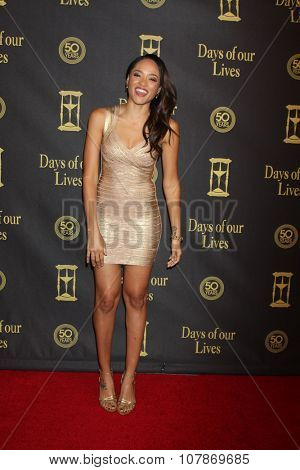 LOS ANGELES - NOV 7:  Sal Stowers at the Days of Our Lives 50th Anniversary Party at the Hollywood Palladium on November 7, 2015 in Los Angeles, CA