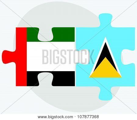 United Arab Emirates And Saint Lucia