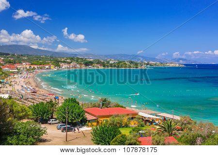 Beautiful Mojito beach on Zakynthos, Greece