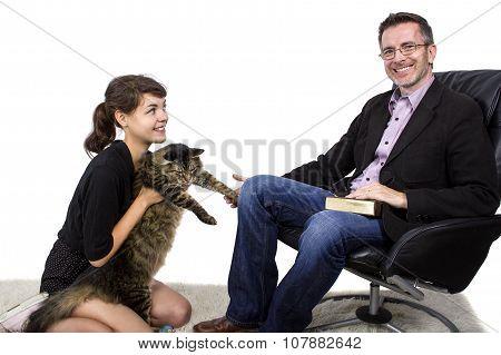 Adopted Pet Cat