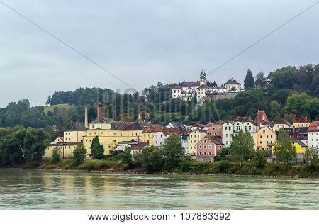View Of Church Mariahilf, Passau, Germany