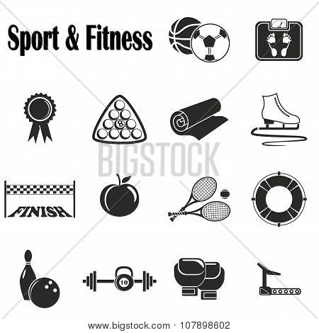 Icons Sport and Fitness