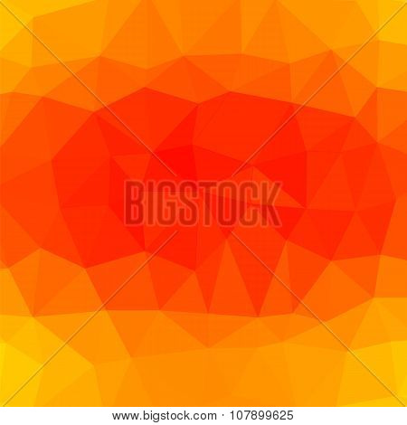 Mosaic Orange Background