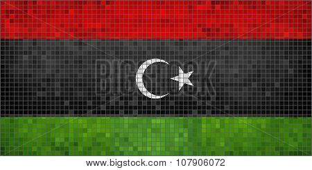 Flag Of Libya.eps