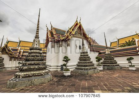 Wat Pho Temple At Thailand