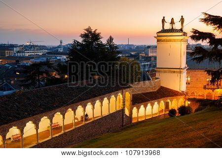 Udine, Loggia And Clock Tower