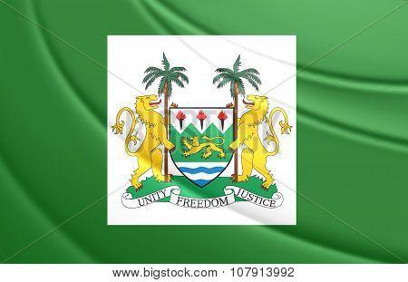 President Standard Of Sierra Leone
