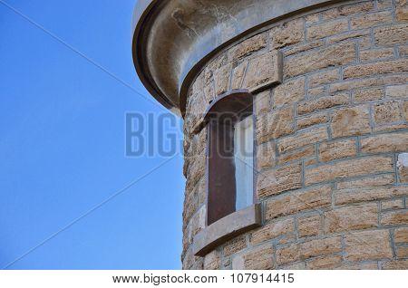 Woodman Point Lighthouse: Limestone Brick