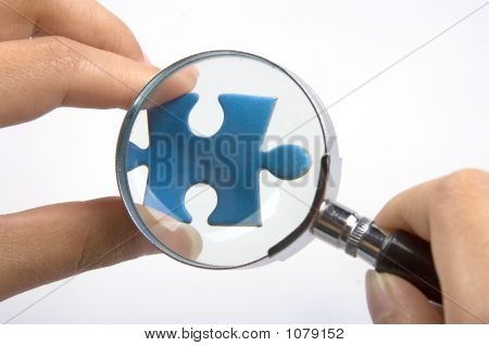 Magnifying Jigsaw Puzzle