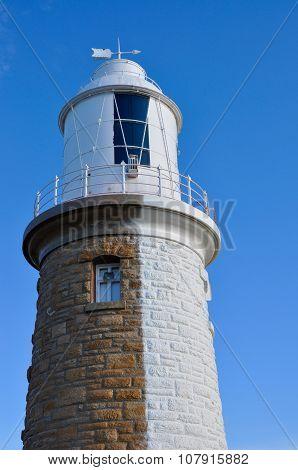 Woodman Point Lighthouse: Half-n-Half