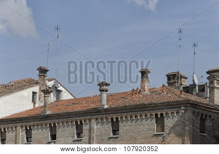 Chimneys And Antennas