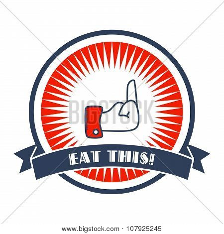 eat this Hand Gesture