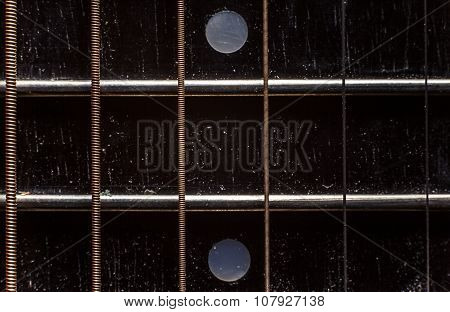 Acoustic Guitar Neck Details