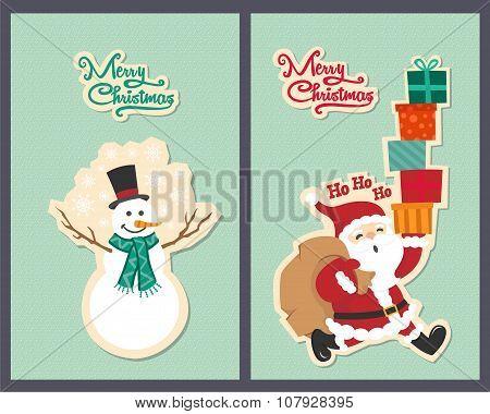Christmas greetings card design