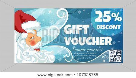 Gift Voucher  Santa Claus