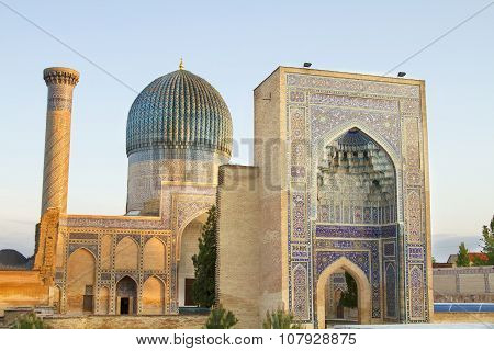 Mausoleum of Emir Timur in Samarkand