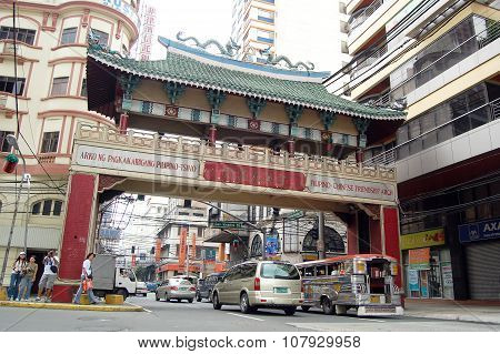 Arch of Filipino-Chinese Friendship in Binondo, Manila, Philippines