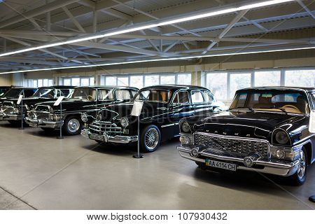 Exhibition Of Retro-cars In Mezhyhirya