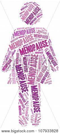 Mature Woman Health Concept Related To Menopause.