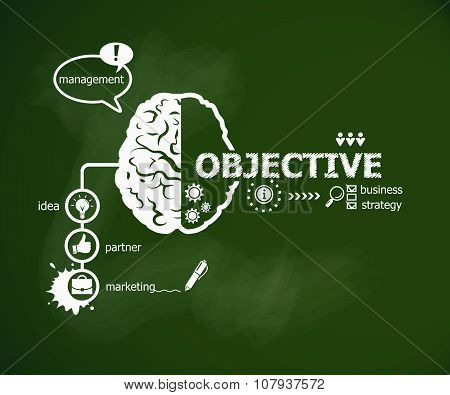 Objective Concept And Brain.