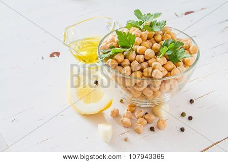 Hummus ingredients