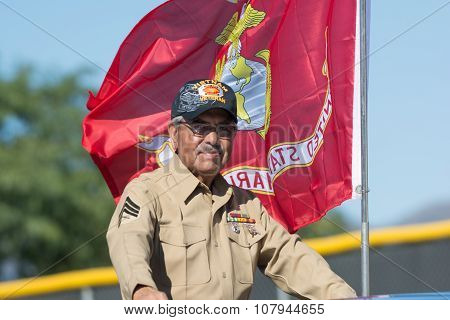 American Marine Veteran