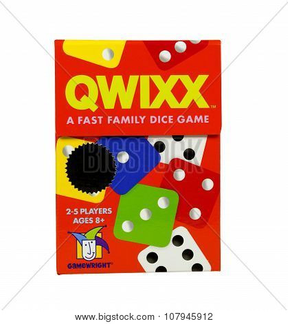 Qwixx Game Box