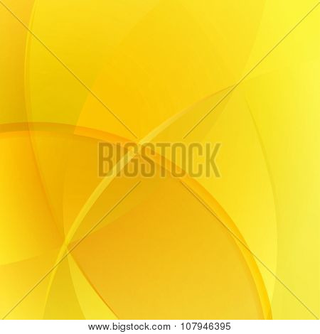 Abstract yellow colored background.