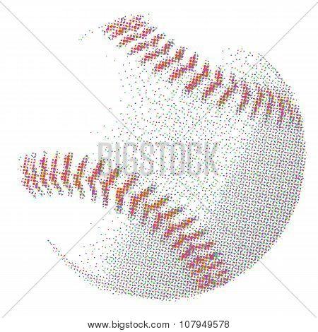 Half Tone Baseball