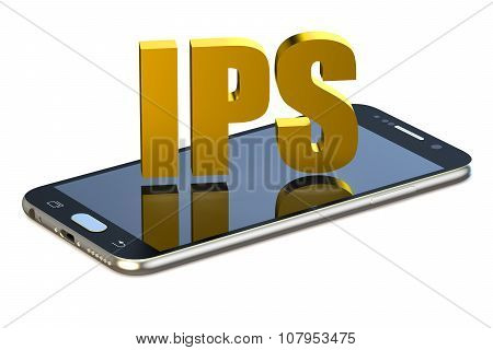 Ips Concept With Smartphone