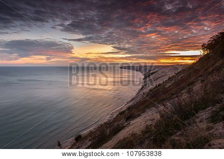 Sunrise At Grand Sable Dunes - Grand Marais, Michigan