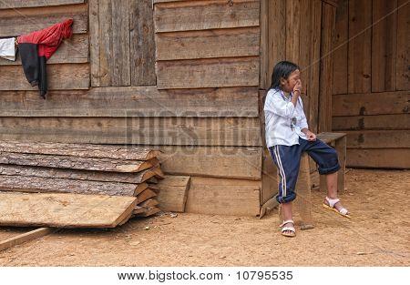 Vietnamesische Mädchen