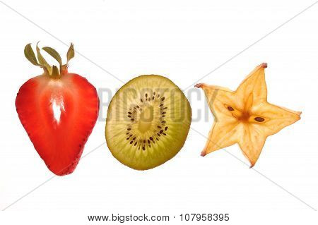 Sectioned fruit
