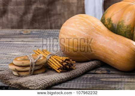 Pumpkins And Bunches