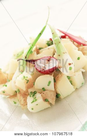 healthy fresh potato salad