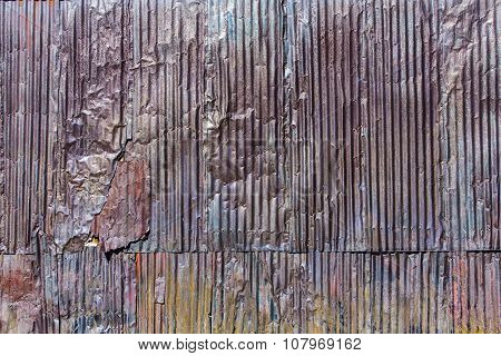 Rustic Corrugated Metal Texture