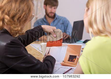 Creative Director Preparing Conception