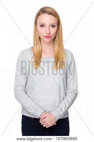 Caucasian young woman
