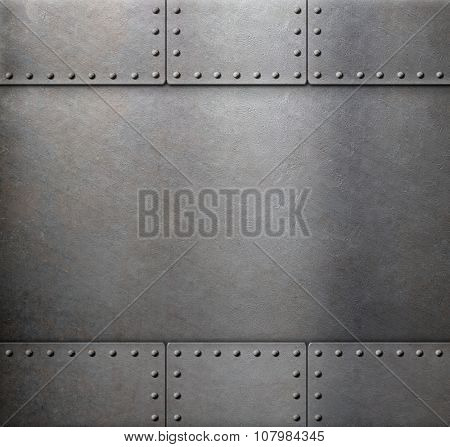 steel metal armor background