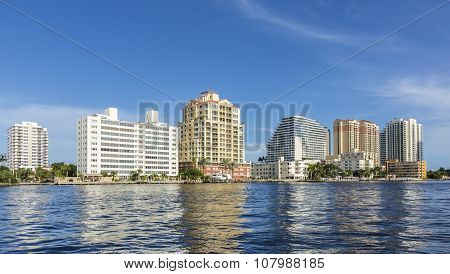 Skyline Of Fort Lauderdale