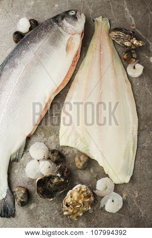healthy fresh fish