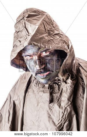 Raincoat Soldier