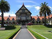 The Historic Rotorua Bath House poster