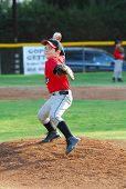 picture of little-league  - 7 year old pony league baseball pitcher - JPG