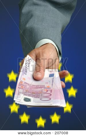 Hand With Money Eu