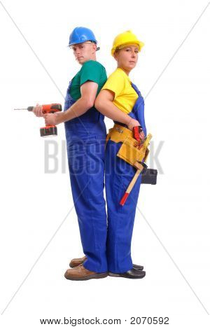 Builders Couple