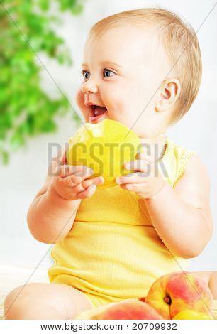 Manzanita de comida de bebé