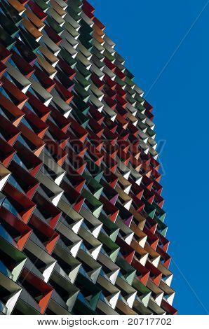 Colourful Apartment Building