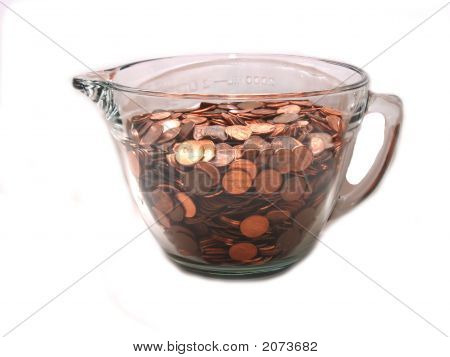 Bowl Of Pennies